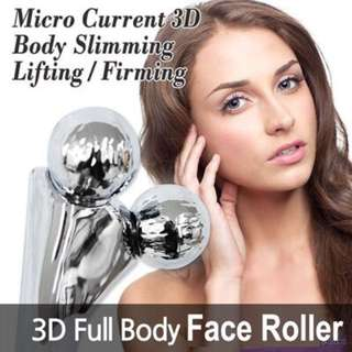 3D Body and Face Roller