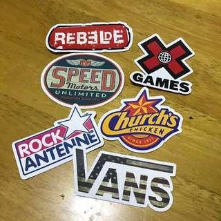 [NEW] Logo Luggage / Laptop Stickers