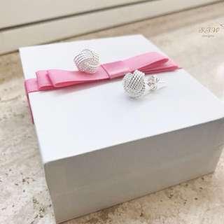Sterling silver earrings!💎s925