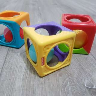 Fisher Price ball cube set