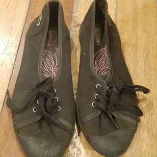 Lacoste canvas shoes