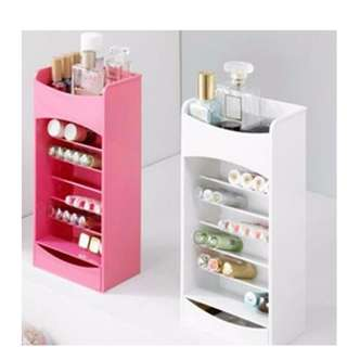 COSMAKE LIPSTICK AND NAIL POLISH ORGANIZER