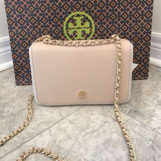 Tory burch oak color 金鏈手袋
