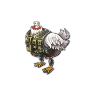 Real-life CSGO Sticker : Headless Chicken