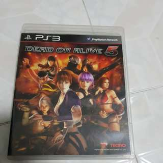 PS3 : Dead Or Alive 5