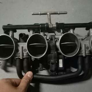 suzuki GSXR carb injector throttle body for part
