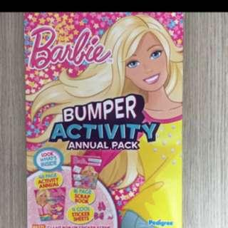 Barbie activity book