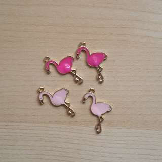 Flamingo Charms
