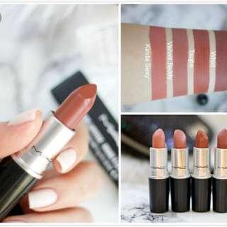 Mac matte lipstick 💄 (taupe)