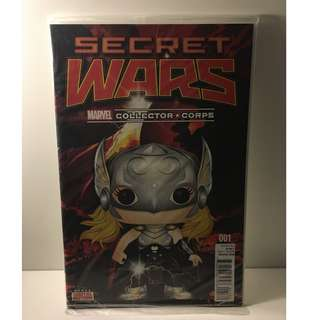 Secret Wars #1 - Funko Collector Corps Exclusive - Marvel Comics