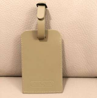Rimowa leather luggage tag