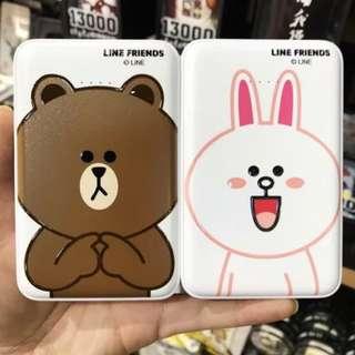 [情人節限定]Line布朗熊&可妮兔12000mAh