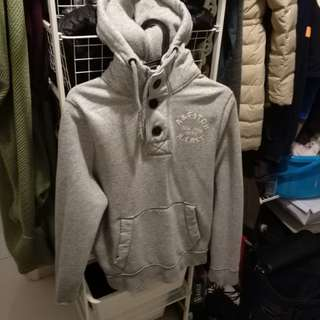 A&f fleece hoodie 有帽衛衣