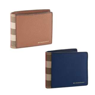 Burberry Check Trim Bifold Wallet 男裝銀包