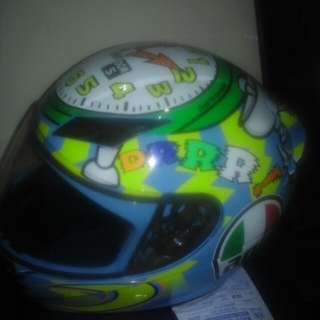Helm tutup AGV size M (