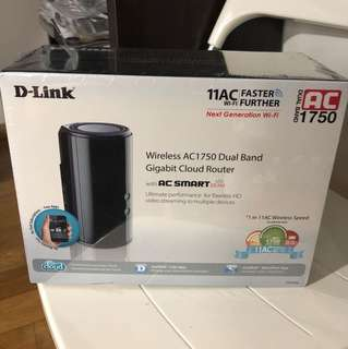 D-Link DIR-868L Wireless AC1750 Dual Band Gigabit Cloud Router