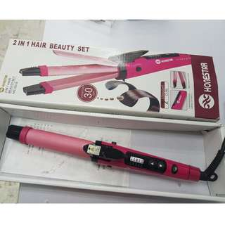 2in 1 hair beauty set