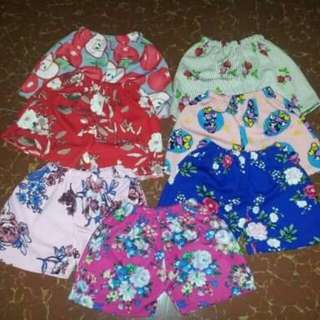 WS : Shorts for kids