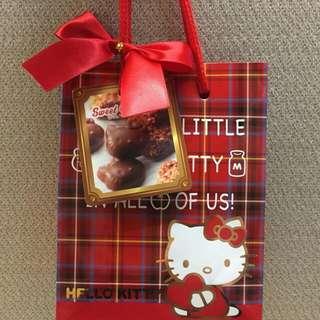 🚚 預購 日本 KITTY巧克力+提袋