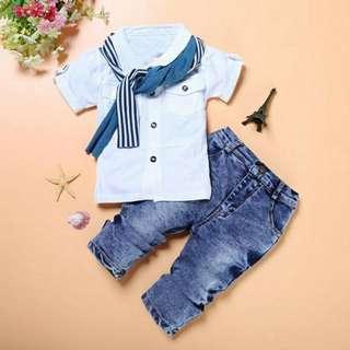 Boy Suit set ( pre-order)