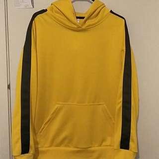 Yellow & black hoodie