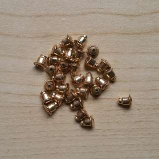 Gold Earring Nuts / Gold Earring Backing