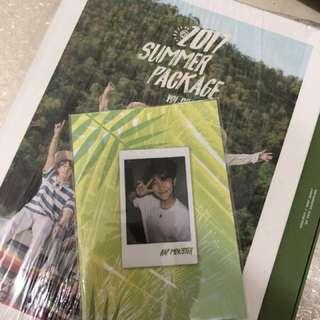 BTS 防彈少年團 Summer package 2017 rm小卡