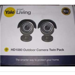Yale HD1080 CCTV Bullet Cameras - Twin Pack