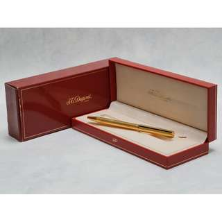 S.T. Dupont Gold Plated BallPoint Pen Vintage Collectibles Rare