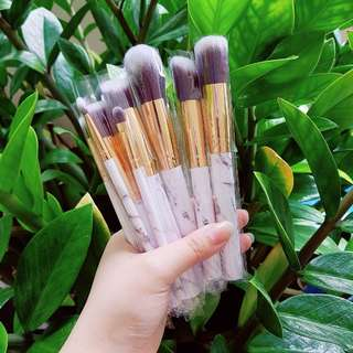 10pcs marble brush