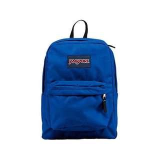 Jansport navy blue backpack