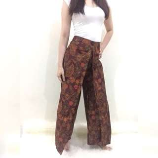 NEW! Celana batik kulot All size