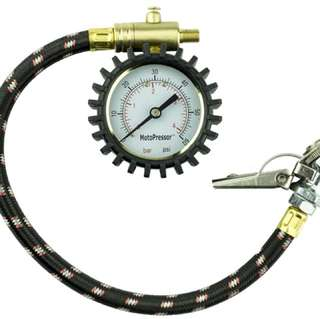 Inline Tyre Gauge Kit – Dial type with two chucks