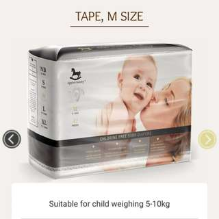 Applecrumby diapers M size