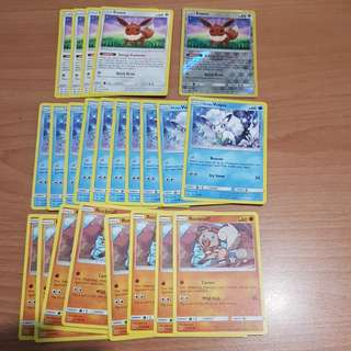 Pokemon Evolution Line Basic/Useful commons
