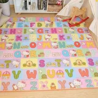 175cm X 150cm Kitty alphabet mat