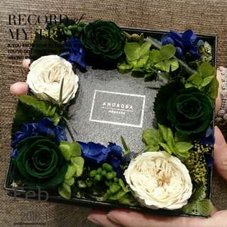 Japan preserved flower gift box 日本保鮮花盒