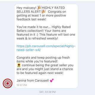 Thank you Carousell 💗