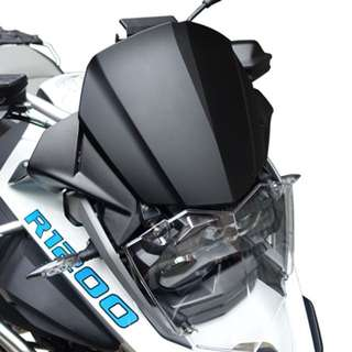 MachineArt SlipScreen - black BMW R1200GS LC/Adventure LC