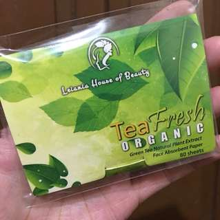 Leiania Face Absorbent Paper