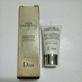BN Dior Prestige White Collection The UV Protector Youth And Radiance Blemish Balm SPF50+ PA+++