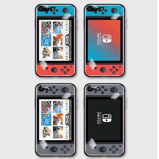 Switch手機殻,4款選(6/6s/6+/6s+/7/7+/8/8+/X)