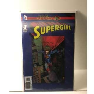 Supergirl Futures End #1 - Lenticular Cover - DC Comics