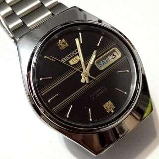 SEIKO 5 Automatic watch  bezel 36mm 23 jewels
