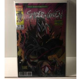 Spider-Gwen #25 - Lenticular Motion Cover - Marvel Comics