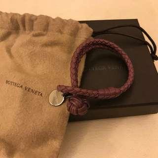 Bottega Veneta classic 女裝紫色S size 雙圈手繩
