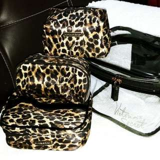 Victoria's Secret 4in1 Pouch - Animal Print