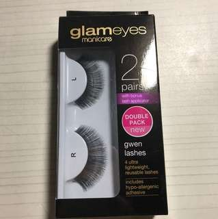 Gwen fake eyelashes by manicare