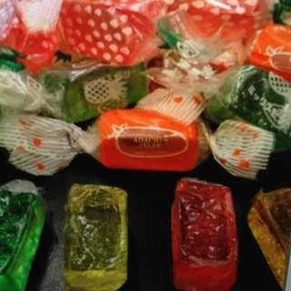 日本 水晶軟糖 一磅 約 33粒
