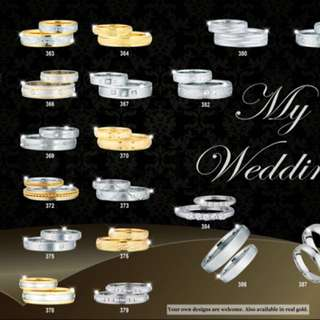 wedding rings and couples ring